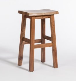 Aspen Bar Stool in Brindled Ash