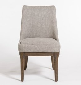 Dawson Dining Chair--Twill Granite/Beechwood