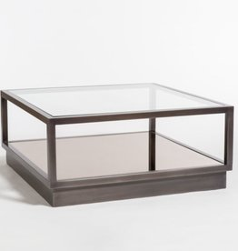 Warren Coffee Table--Gunmetal Finish