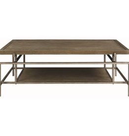 Coaster Contemporary Coffee Table with Metal Frame
