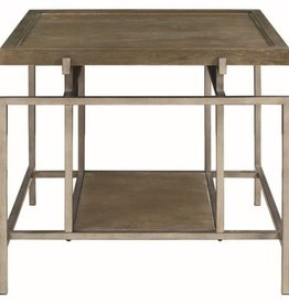 Coaster Contemporary End Table with Geometric Frame