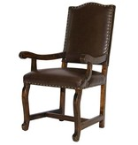Sierra Madre Chocolate Upholstered Arm Chair