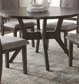 Nisky Acacia Round Dining Table