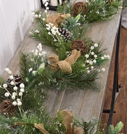 Pinecone Design Garland