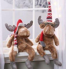 Moose Shelf Sitters--2 Asst