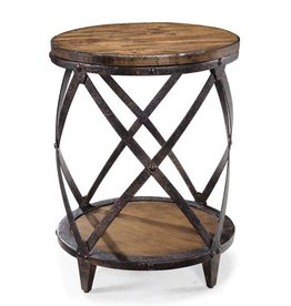 Pinebrook Round Accent Table
