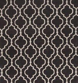 Allure Charcoal Fiore 5' x 7'