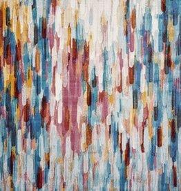 Arte Multicolor Moderne 5' x 7'