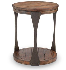 Montgomery Round End Table