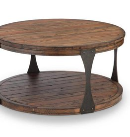Montgomery Round Cocktail Table w/Casters