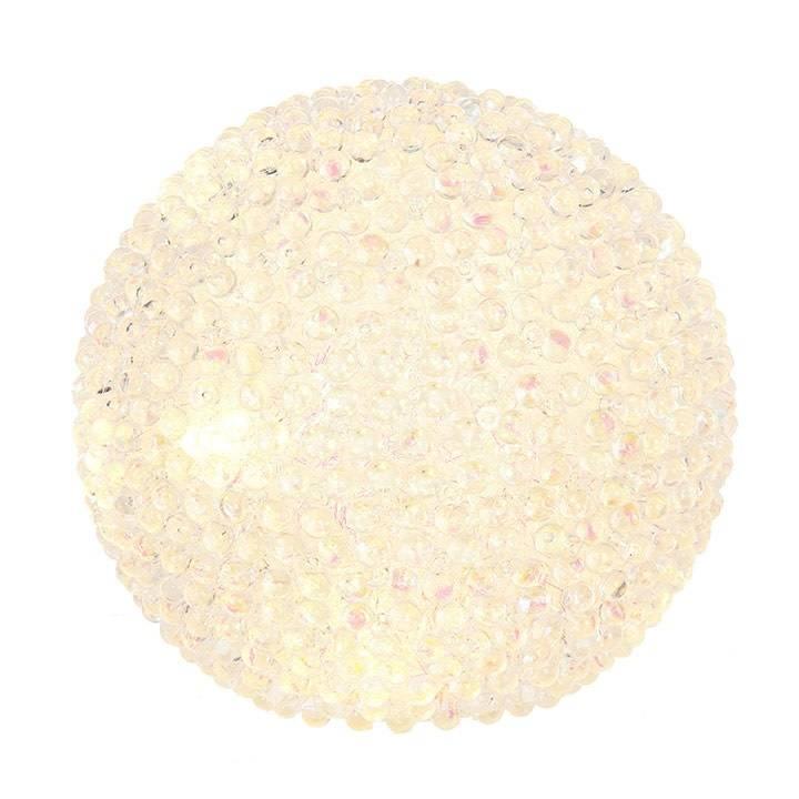 """Raz Imports 6.5"""" Lighted Beaded Ball"""