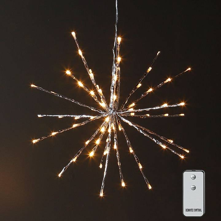 Raz Imports Lighted Starburst W/Remote--24""