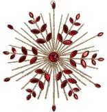 Raz Imports Jeweled Starburst Ornament