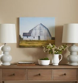 Old White Barn Gel Coat Canvas