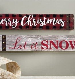 Wood Sign--MERRY CHRISTMAS