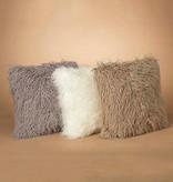 """18"""" Faux Fur Pillow, 3 Asst--choice of one"""