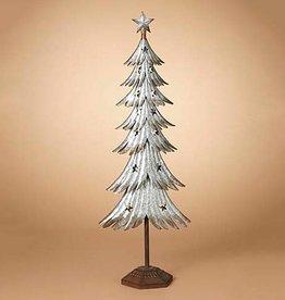 "39""H Galvanized Metal Tree"