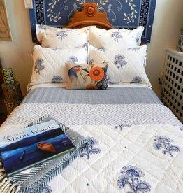 Blue Flower Bedding