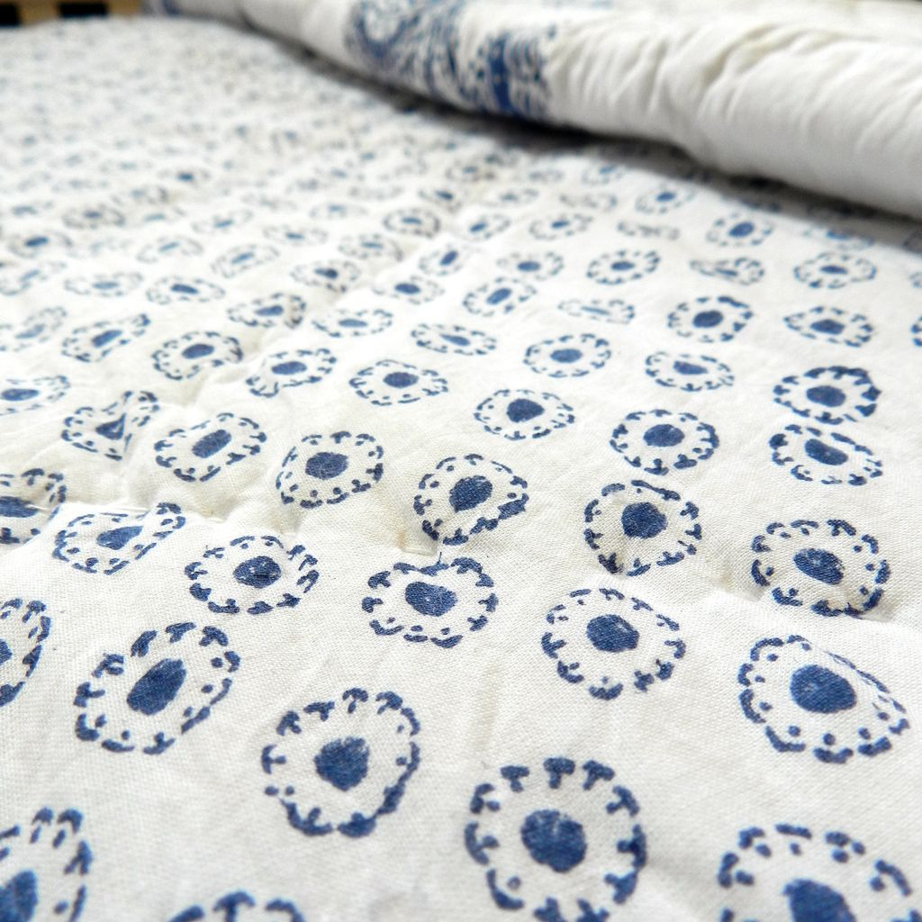 Bedding - Blue Flower