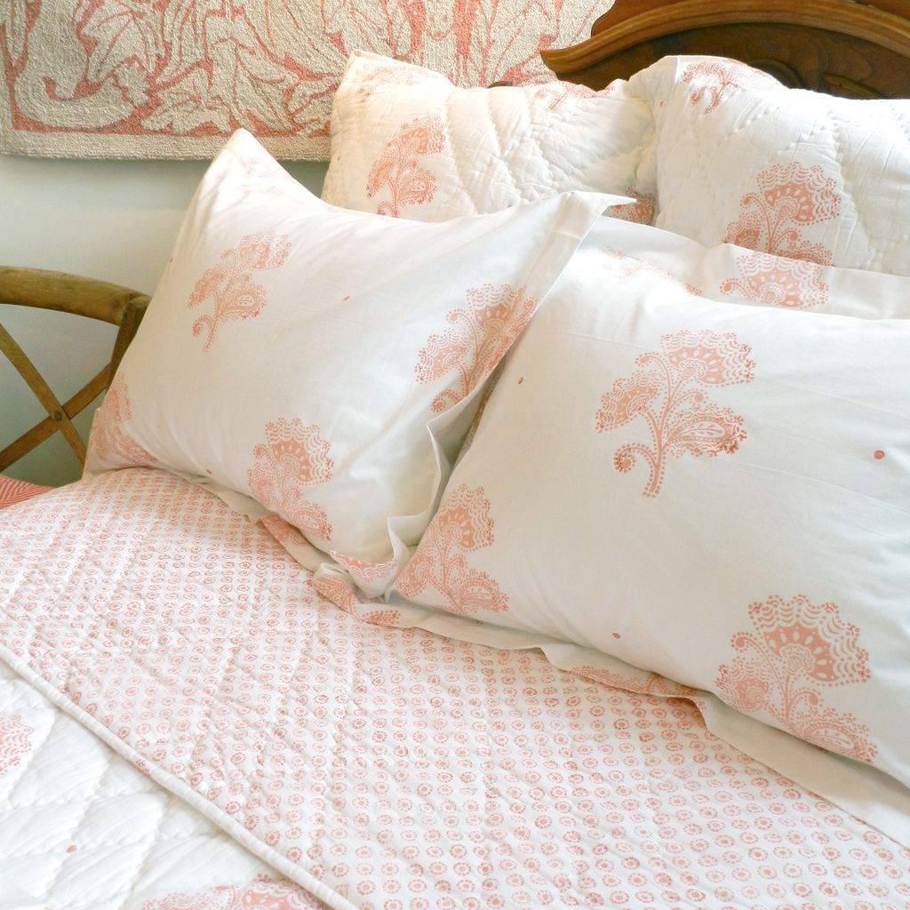 Bedding   Coral Flower. House   Home   Jo Ellen Designs