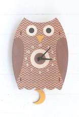 Pendulum Clock - Owl