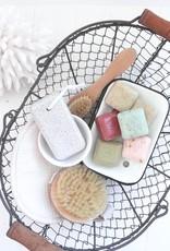 Enamel Soap Dish - Cream
