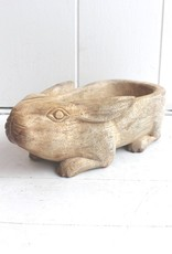Wood Rabbit Bowl Mini