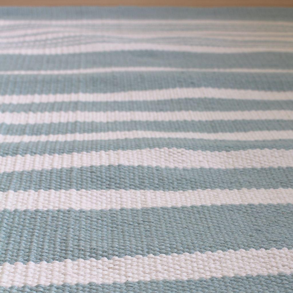 Harbor Sea Stripe Cotton Rug