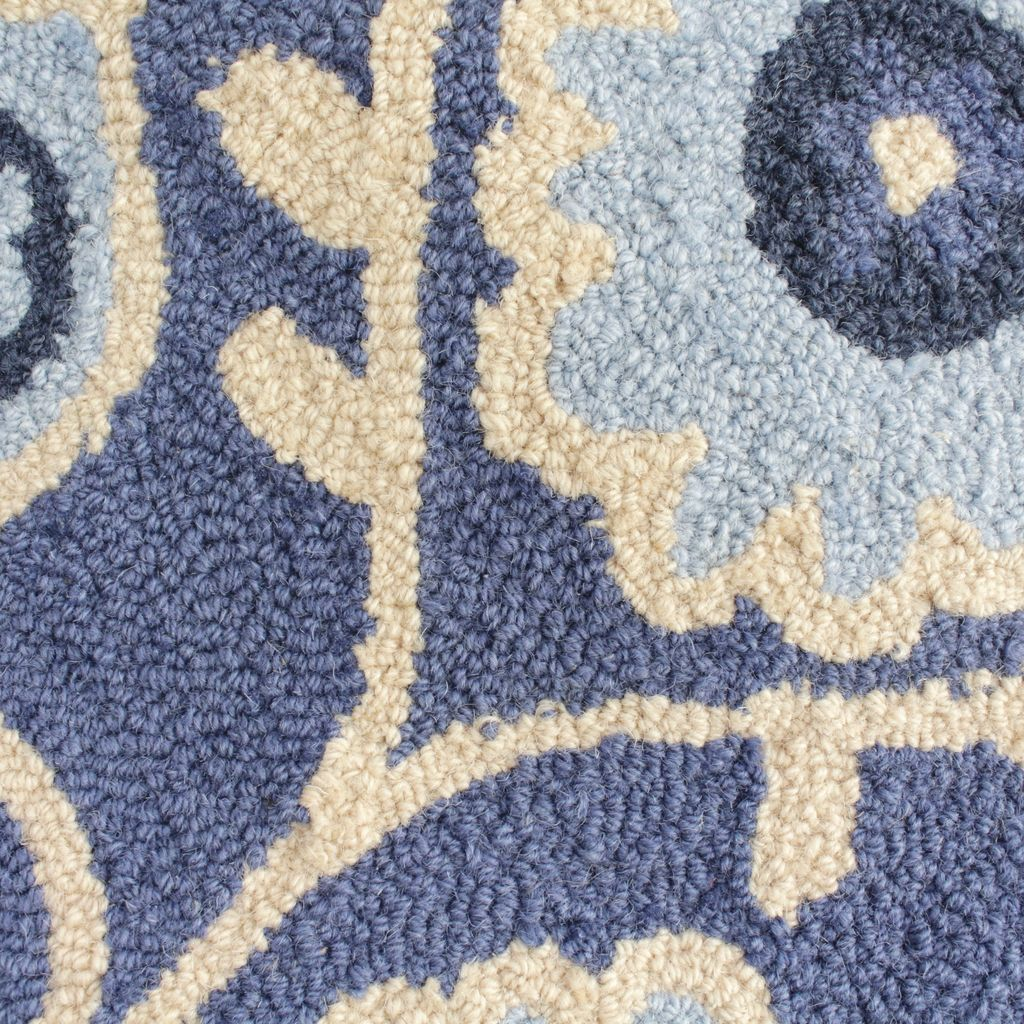 ours designs heart jo rug wool ellen rugs hooked beat blue