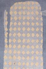 O'Whale Blue Wool Hooked Rug