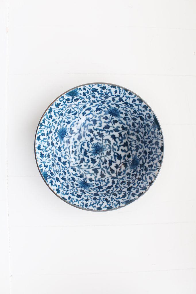 Bowl - Blue Bitsy