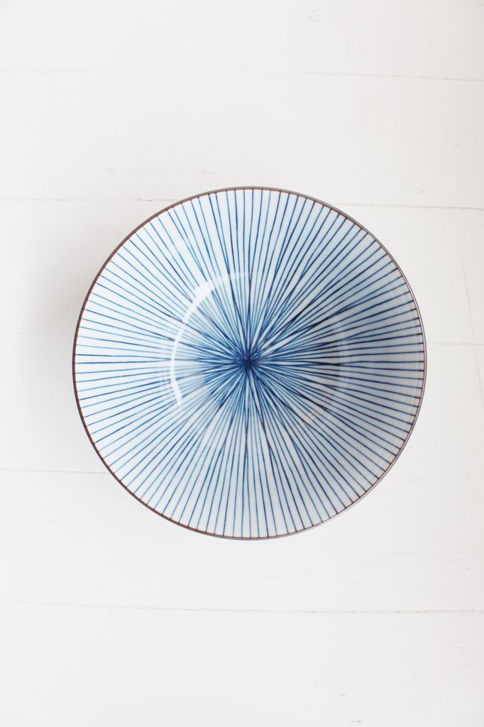 Blue Line Bowl