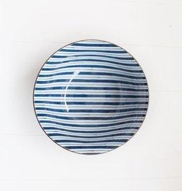 Blue Stripe Bowl