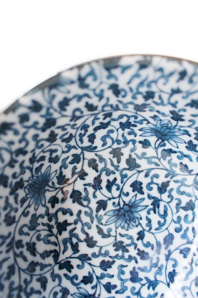 Blue Bitsy Bowl