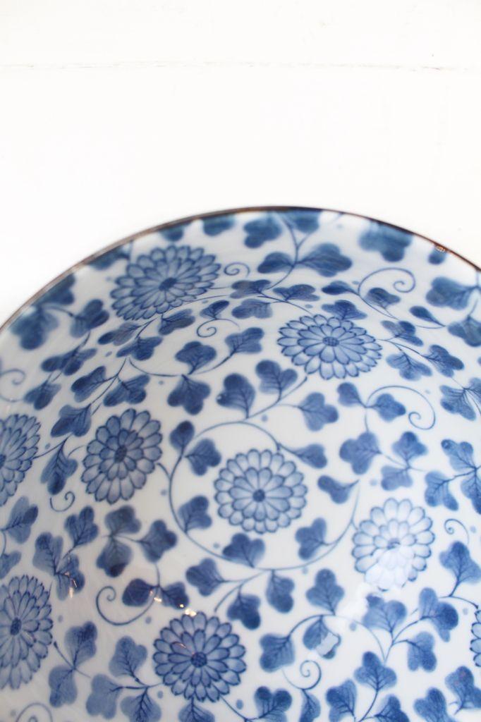 Blue Dahlia Bowl