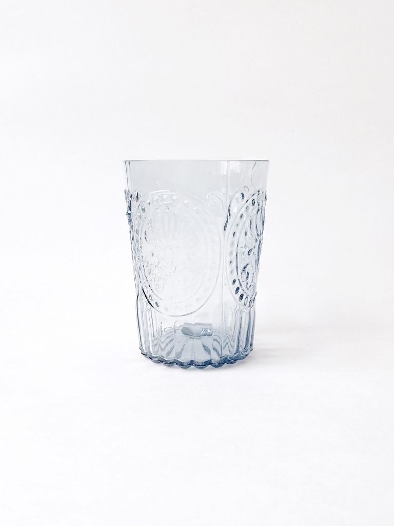 Water Glass Blue