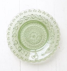 Glass Plate Green