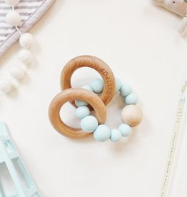 Bubble Rattle - Robin's Egg Blue