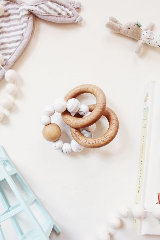 Bubble Rattle - Marble