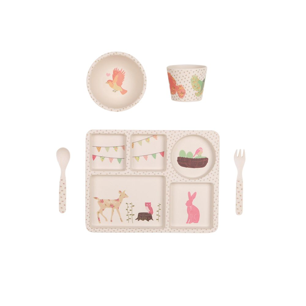 Bamboo Dinner Set - Tea Party