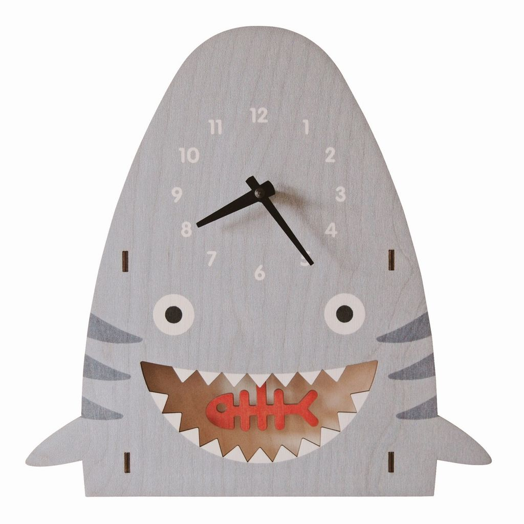 Pendulum Clock - Shark