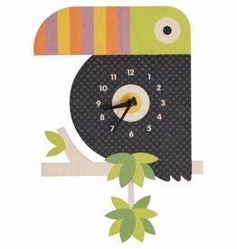 Pendulum Clock - Toucan