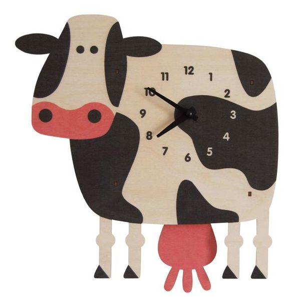 Pendulum Clock - Cow