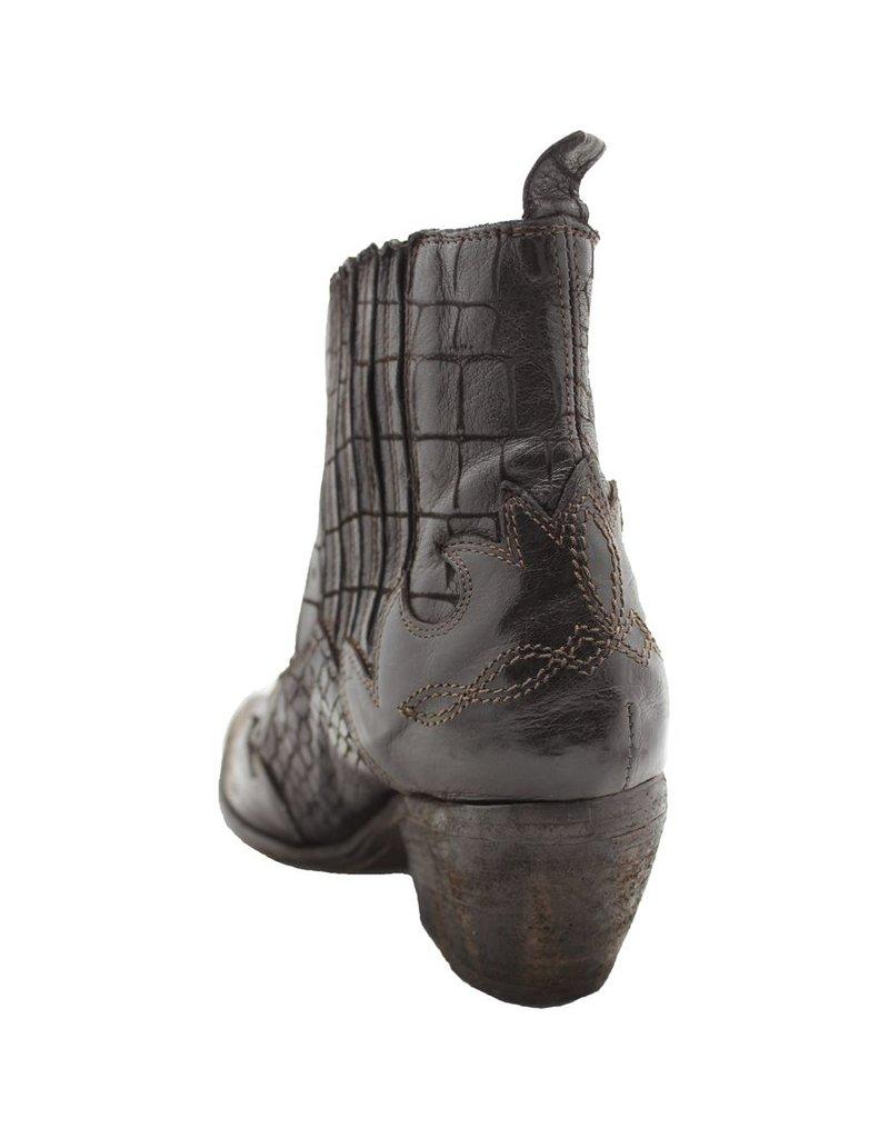 Fauzian Jeunesse Brown Croco Western Boot 1938