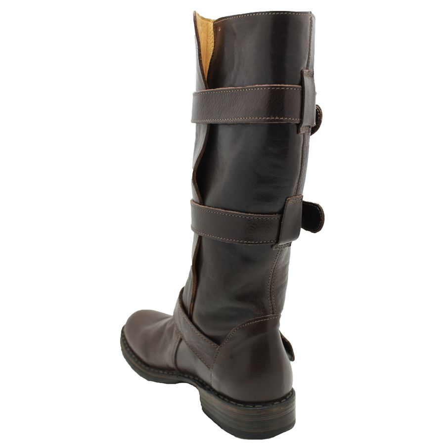 Fiorentini+Baker Fiorentini Brown Vac Lux 3 Buckle Boot 7040