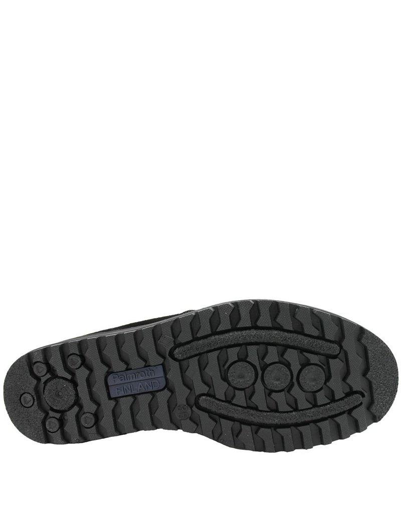 WaterProof  Black Suede Fur Lined Side Zipper Paige