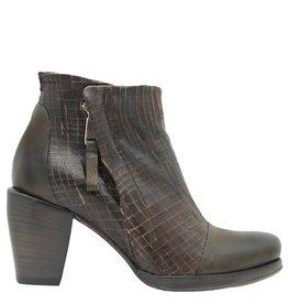 Ixos Ixos Chocolate Cut Leather Point Zipper Boot 5508