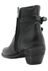 Officine Creative OfficineCreative Black Two Buckle Boot Alyson