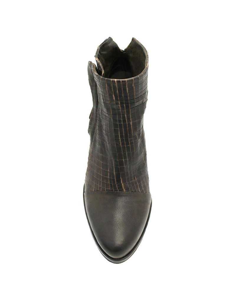 Ixos Ixos Chocolate Cut Leather Point Zipper Boot 5508