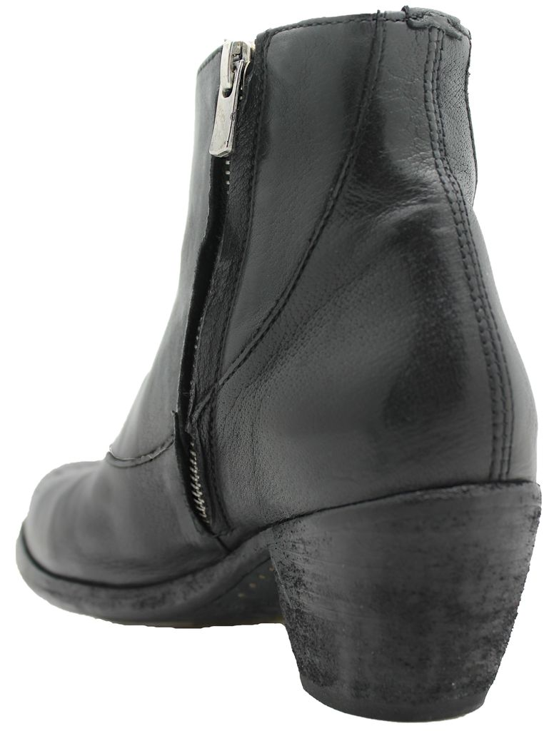 Officine Creative OfficineCreative Black No Lace Boot Amber